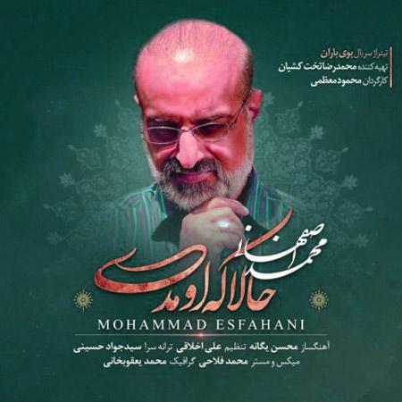 Hala mp3 image - دانلود آهنگ حالا که اومدی از محمد اصفهانی